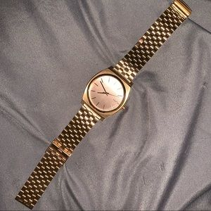 Rose Gold Nixon Watch